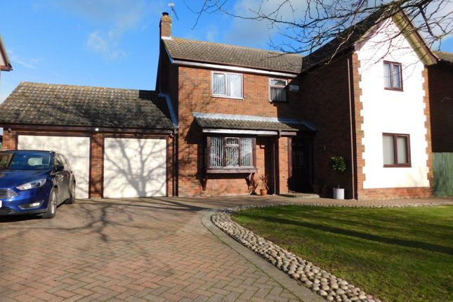 Thumbnail Detached house for sale in Rectory Road, Wyverstone, Stowmarket