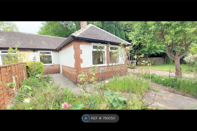 Thumbnail Bungalow to rent in Parrin Lane, Eccles, Manchester
