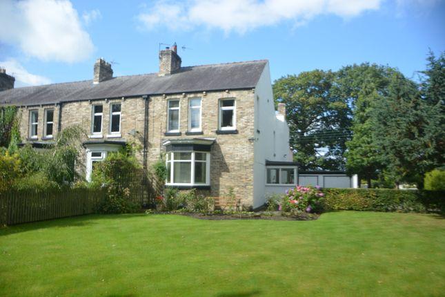 Thumbnail End terrace house for sale in Officials Terrace, Malton, Lanchester, Co Durham