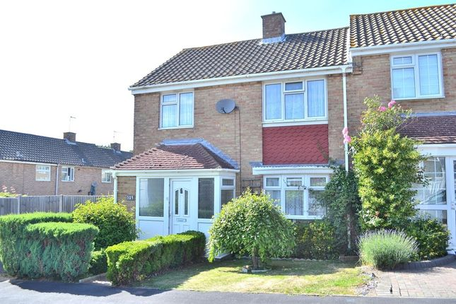 Thumbnail Terraced house for sale in Abbotsweld, Harlow