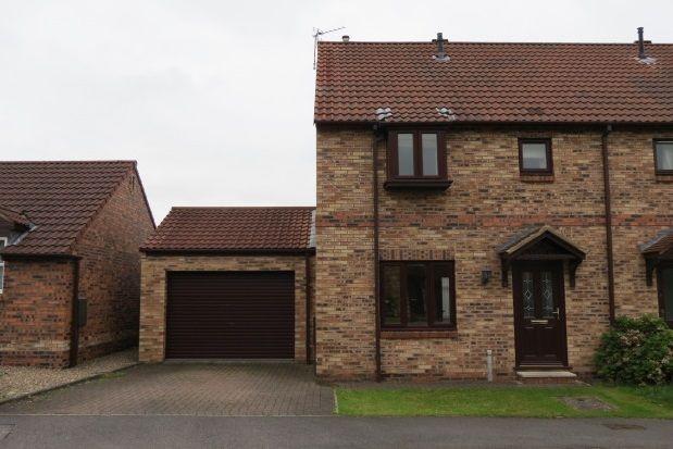 Thumbnail Semi-detached house to rent in Holgate Close, Malton