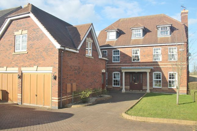 Thumbnail Detached house to rent in Chesnut Drive, Oadby