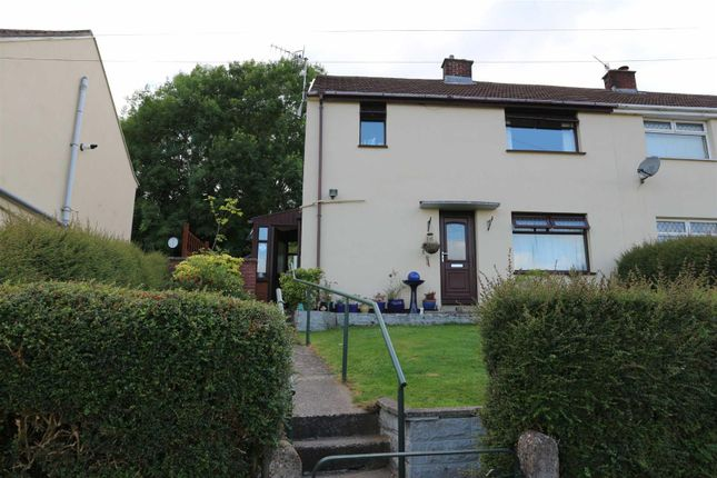 Thumbnail Semi-detached house for sale in Brynawel, Cefn Hengoed, Hengoed