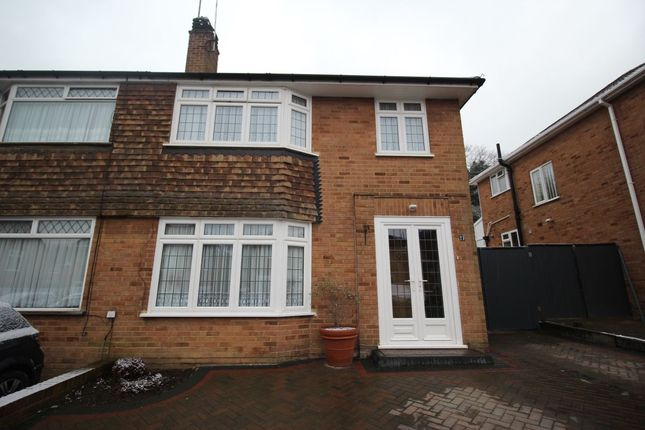 Thumbnail Semi-detached house for sale in Lower Croft, Swanley