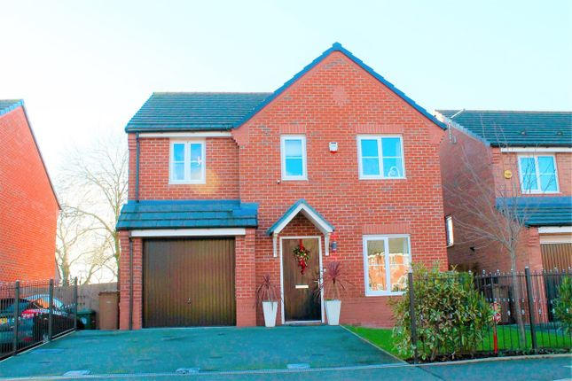 Thumbnail Detached house for sale in Cardinal Way, Newton-Le-Willows