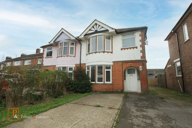 Thumbnail Semi-detached house to rent in Ipswich Road, Colchester, Essex