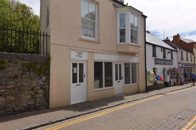 Thumbnail Commercial property for sale in Upper Frog Street, Tenby