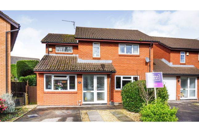 Thumbnail Detached house for sale in Cowleaze, Magor