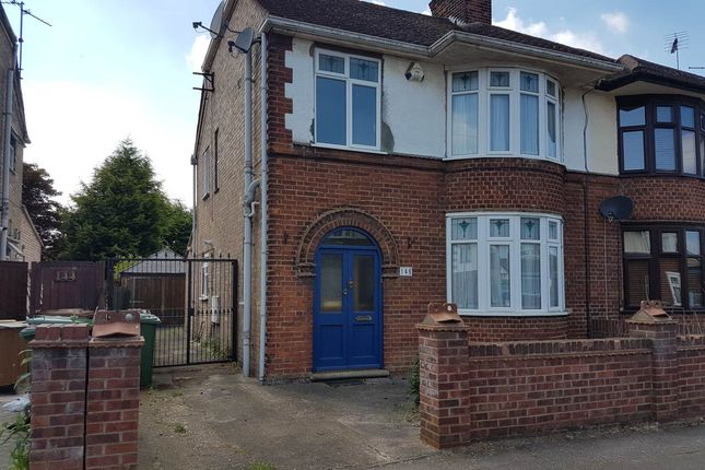 Thumbnail Semi-detached house to rent in Northfield Road, Peterborough