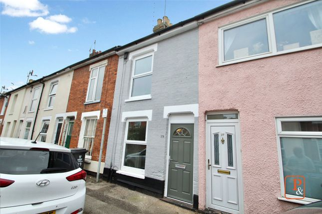 Thumbnail 2 bed terraced house to rent in Norfolk Road, Ipswich