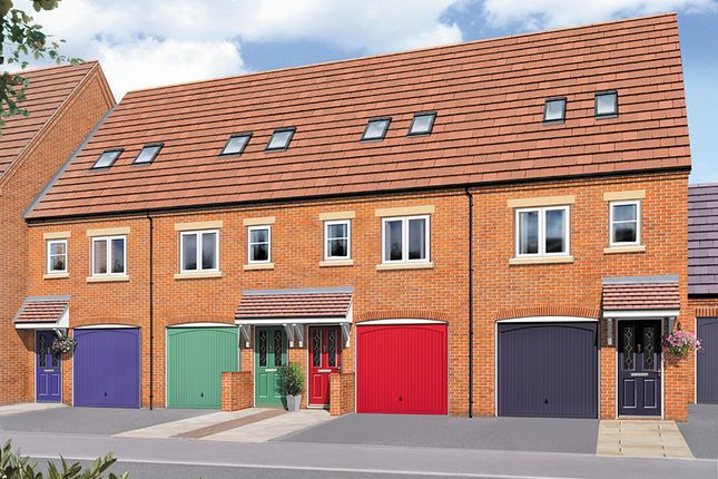 Thumbnail Town house for sale in The Sycamore, Greendale Gardens, Hucknall, Nottinghamshire