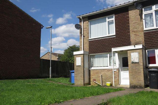 Thumbnail End terrace house for sale in Redwood Close, Desborough, Kettering