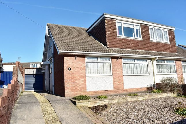 Thumbnail Semi-detached bungalow for sale in Hendre Road, Pencoed, Bridgend .