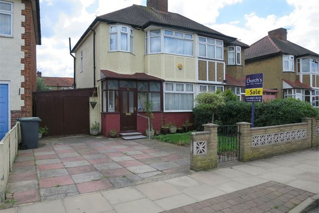 Thumbnail Semi-detached house for sale in Cedar Avenue, Enfield, Greater London