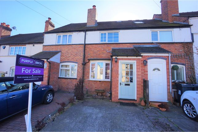 2 bed terraced house for sale in Four Oaks Common Road, Sutton Coldfield