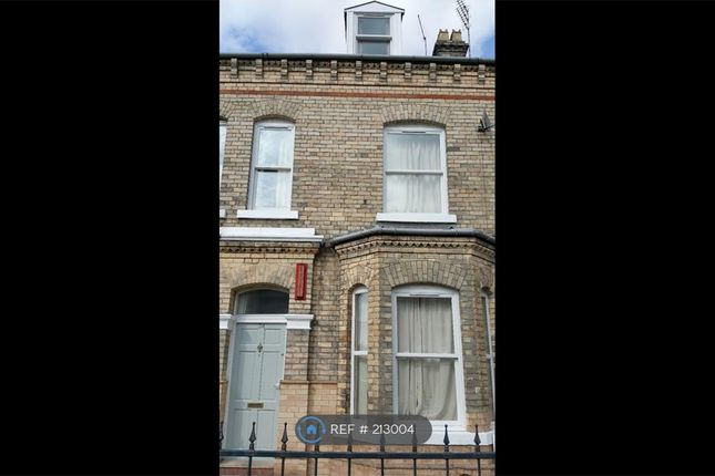 Thumbnail Terraced house to rent in Heslington Road, York