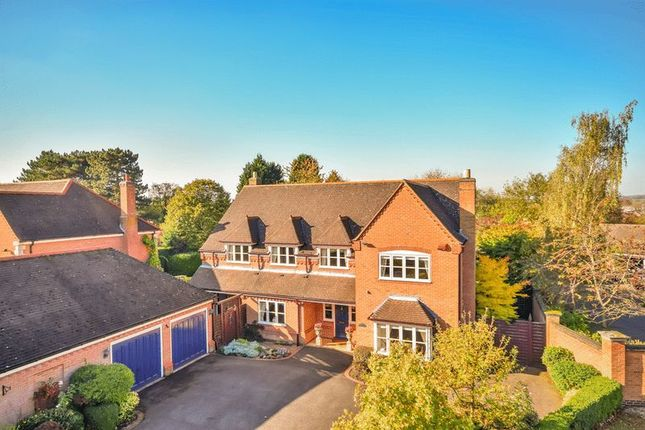 Thumbnail Detached house for sale in Roundhill, Kirby Muxloe, Leicester