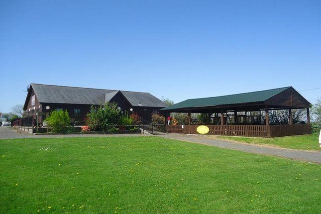 Thumbnail Leisure/hospitality for sale in Chapmanswell Caravan Park, St Giles On The Heath, Launceston, Cornwall
