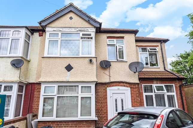 Thumbnail Flat to rent in Melrose Avenue, Norbury, London