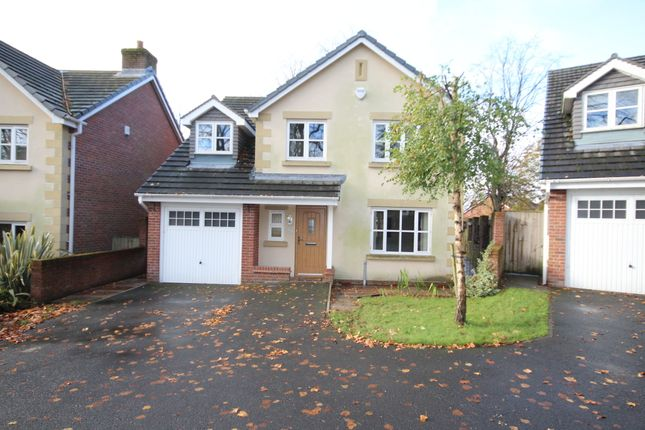 Thumbnail Detached house to rent in Clarendon Gardens, Bromley Cross, Bolton, Lancs, .