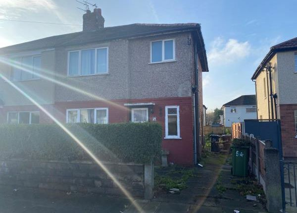 Thumbnail Semi-detached house for sale in 54 Dover Road, Maghull, Liverpool