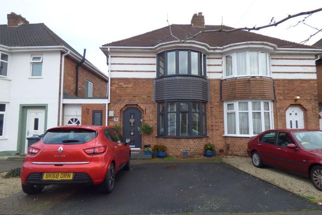 Thumbnail Semi-detached house for sale in Woolacombe Lodge Road, Selly Oak, Birmingham