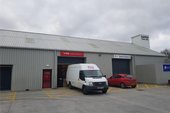 Thumbnail Warehouse to let in Dafen Trade Park, Unit 10, Dafen, Llanelli, Carmarthenshire