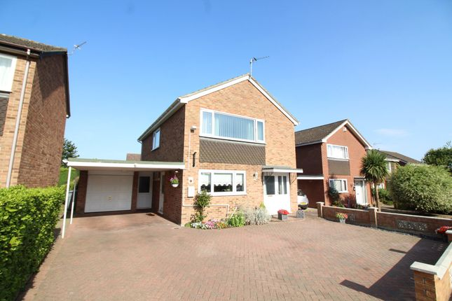 Thumbnail Detached house for sale in Danesbower Close, Blofield, Norwich