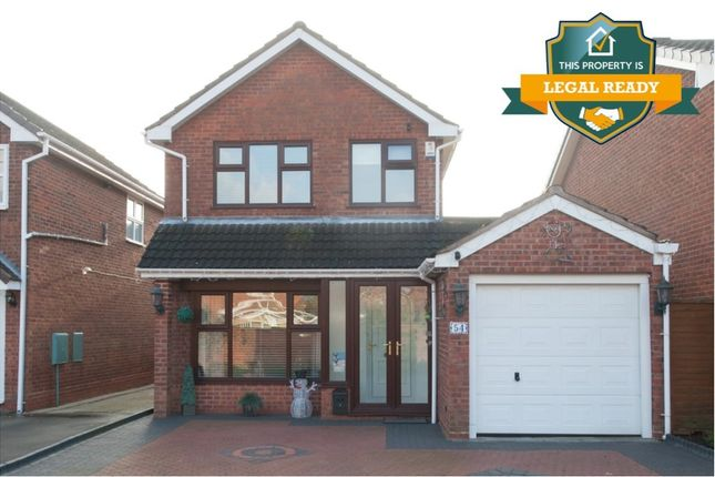 3 bed detached house for sale in Rowan Close, Kingsbury, Tamworth