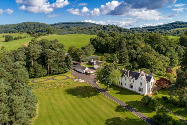 Thumbnail Detached house for sale in Cowden House, Dalginross, Comrie, Perthshire