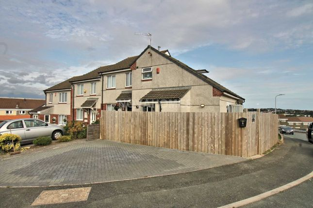 Thumbnail End terrace house for sale in Hargreaves Close, Kings Tamerton