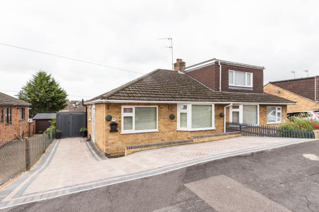Thumbnail Semi-detached bungalow for sale in Drayton Road, Irthlingborough, Wellingborough