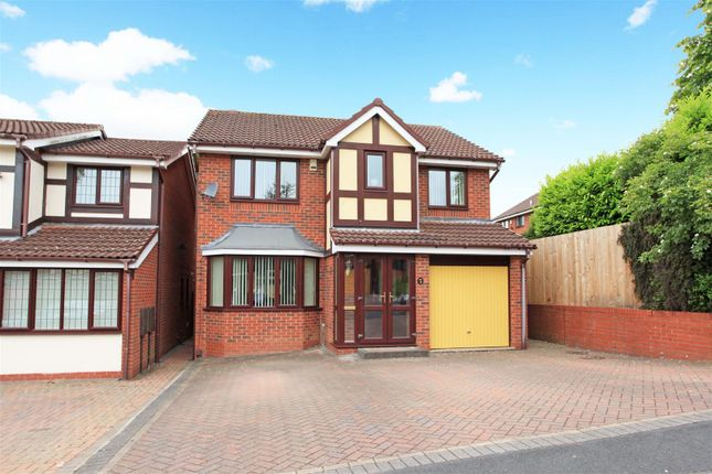 Thumbnail Detached house for sale in Swansmede Way, Stirchley, Telford