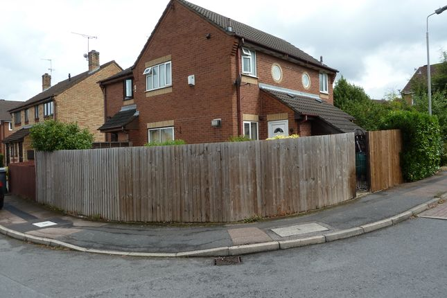 Thumbnail Town house to rent in Althorp Close, Aylestone, Leicester