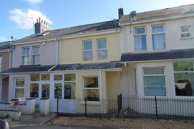 Thumbnail Terraced house to rent in Caradon Terrace, Saltash, Cornwall