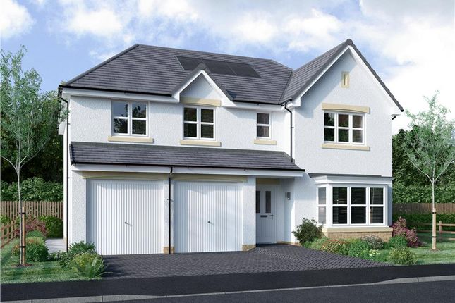 "Thumbnail 5 bed detached house for sale in ""Kinnaird"" at Blantyre Mill Road, Bothwell, Glasgow"