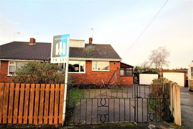 Thumbnail Bungalow to rent in Whin Close, Hemsworth, Pontefract, West Yorkshire