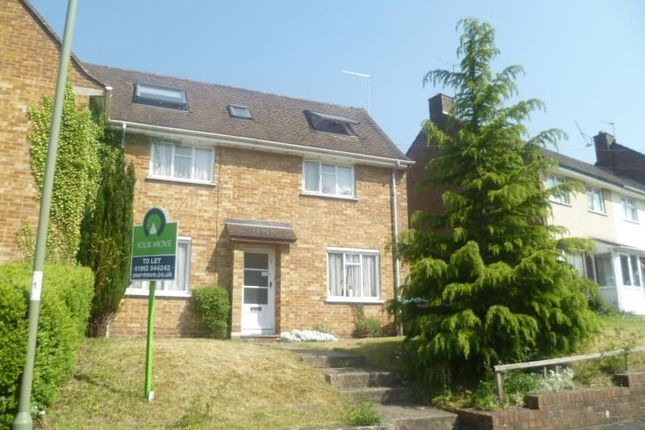 Thumbnail Semi-detached house to rent in Moss Road, Winchester