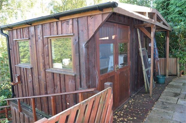 Workshop of Blenkinsopp Castle Home Park, Greenhead, Cumbria. CA8