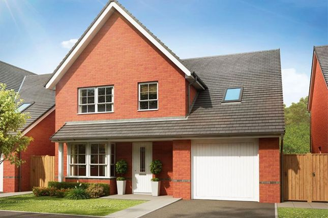 """Thumbnail Detached house for sale in """"Hertford"""" at Pye Green Road, Hednesford, Cannock"""