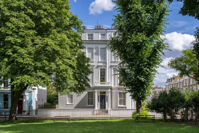 End terrace house for sale in Chalcot Square, Primrose Hill, London