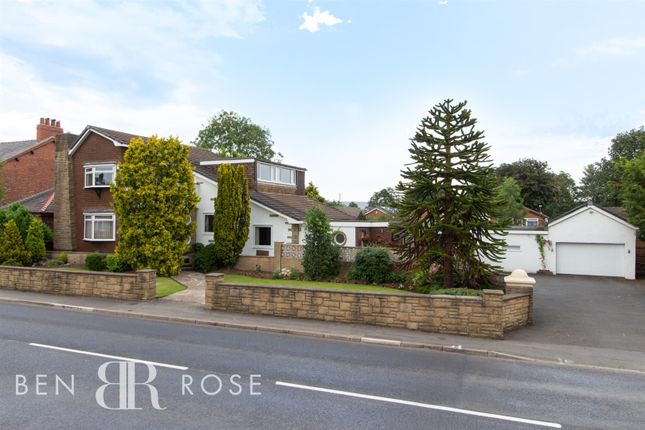 Thumbnail Detached house for sale in Croston Road, Farington Moss, Leyland