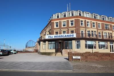 Thumbnail Hotel/guest house for sale in The Headlands Hotel, 611-613, New South Promenade, Blackpool, Lancashire
