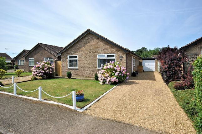 Thumbnail Detached bungalow for sale in Ickworth Close, South Wootton, King's Lynn