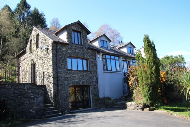Thumbnail Detached house for sale in Woodside, Hazelrigg Lane, Newby Bridge, Ulverston