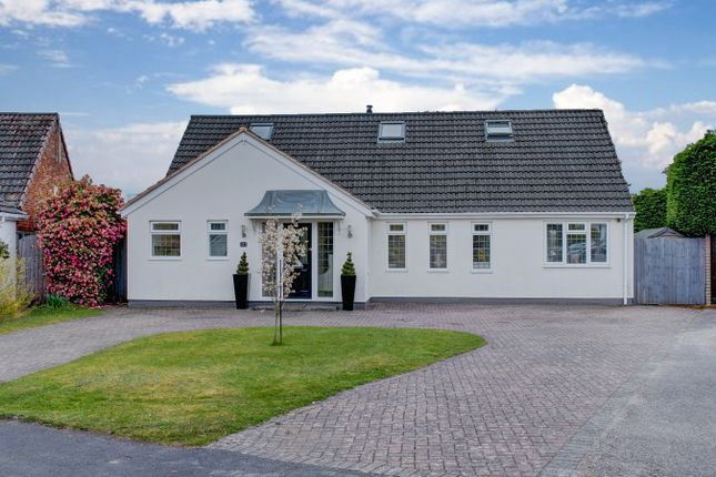 Thumbnail Detached bungalow for sale in Rosehall Close, Solihull