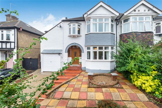 4 bed semi-detached house for sale in Rafford Way, Bromley, Kent BR1