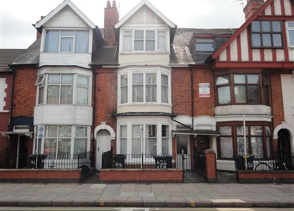 Thumbnail Terraced house to rent in East Park Road, Leicester