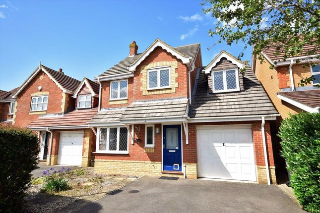 Thumbnail Detached house to rent in Masefield Way, Royston, Hertfordshire