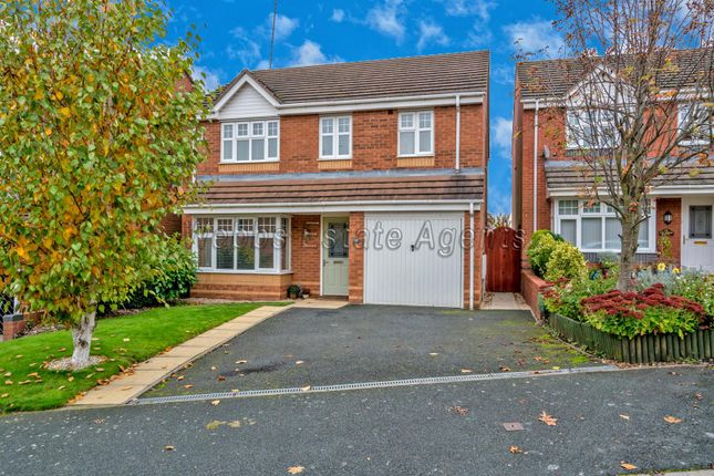 Thumbnail Detached house for sale in Canterbury Drive, Rugeley